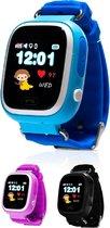 Kinder Smartwatch Horloge GPS met Simkaart - Blauw - GPS & WIFI met Belfunctie - GPS Horloge Kind - Smartwatch Kids