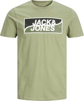 JACK&JONES JCOFLY TEE SS TEE BIG SCALED IRE Heren T-shirt