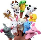 Hiden | Vingerpoppen - Baby & Kinderen - Toneel - Creativiteit - Speelgoed | 3 stuks