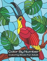 Color By Number Coloring Book for Adult: Color by Number: An Adult Coloring Book with Fun, Easy, and Relaxing Coloring Pages