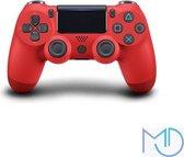 Kwalitatief Goede Wireless Controller - V2 - Geschikt voor PS4 - Rood