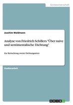 Analyse Von Friedrich Schillers Uber Naive Und Sentimentalische Dichtung