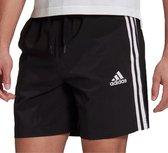 adidas Sportbroek - Maat L  - Mannen - zwart/wit