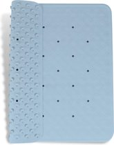 Douchemat Blauw - 53 x 53 cm - antislip mat - douche - badmat