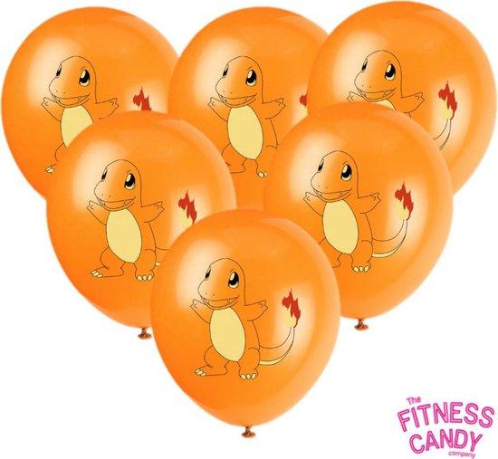POKEMON Charmander Ballonnen - Set van 6