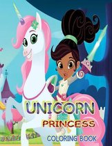 Unicorn Princess Coloring Book