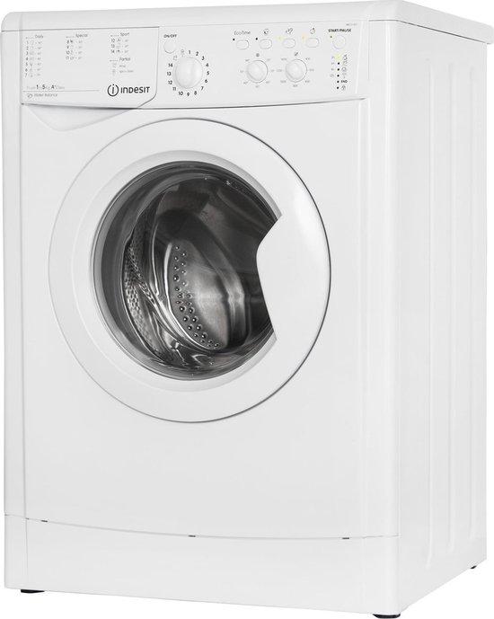 Indesit vrijstaande wasmachine: 5,0 kg