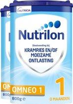 Nutrilon Omneo 1 - Flesvoeding vanaf de geboorte - 2 x 800 gram