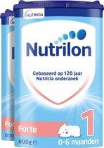 Nutrilon Forte 1 - Flesvoeding vanaf de geboorte - 2 x 800 gram