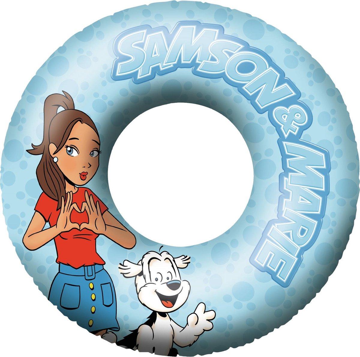 Studio 100 Zwemband Samson & Marie 108 Cm Vinyl Blauw