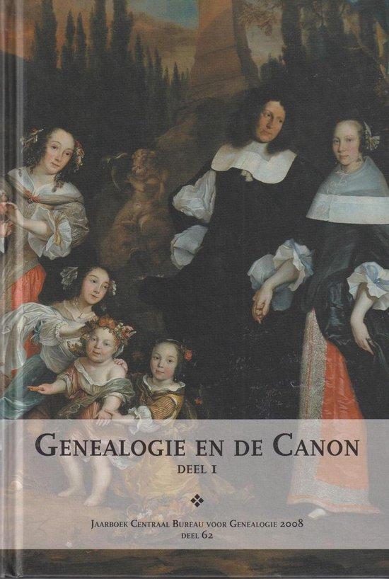 Boek cover Genealogie en de Canon, deel 1 van Redactie: Jos van den Borne (Hardcover)
