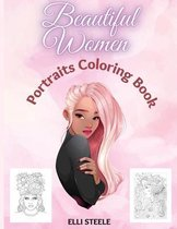 Beautiful Women Portraits Coloring Book