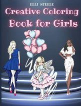Creative Coloring Book for Girls