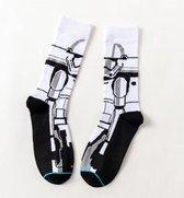 Starwars Sokken - Socks - Stormtrooper - Vrolijke sokken - Maat 37-42