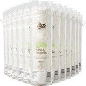 Etos Pure & Organic Wattenschijfjes - 960 stuks (12 rollen x 80 watten)
