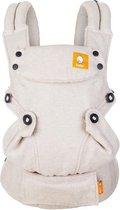 Tula Baby Draagzak Explore Linen Sand - ergonomische baby draagzak vanaf geboorte