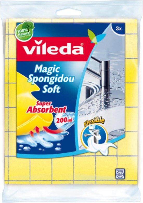 Doeken & Sponzen Vileda Vileda Spongidou 3St.