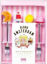 Blond Amsterdam Moederdag Gebaksvorkje