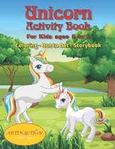 Unicorn Activity Book For kids ages 5 to 8