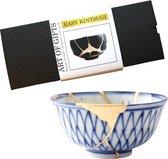 XL Kintsugi repair kit - Geschenkset Goud - Keramiek - Goudlijm