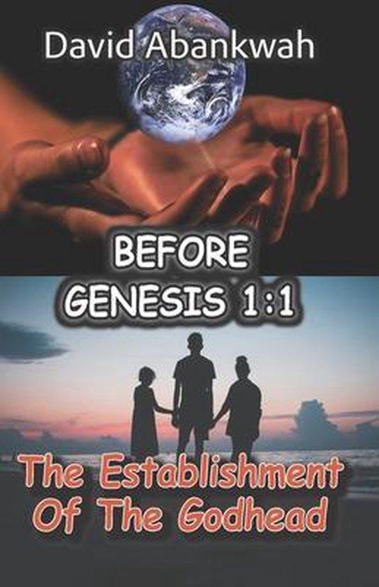 Boek cover Before Genesis 1: 1 van David Abankwah (Paperback)