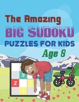 The Amazing Big Sudoku Puzzles For Kids Age 8