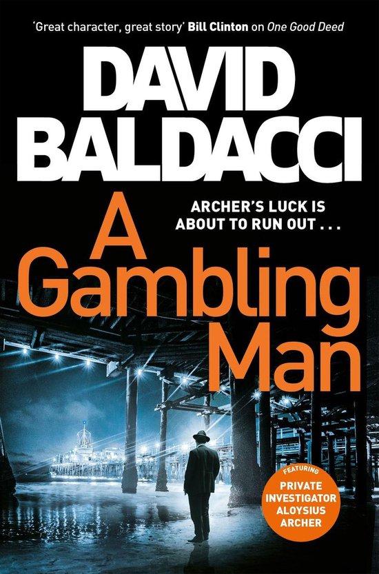 Boek cover A Gambling Man van David Baldacci (Onbekend)