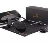 Kingseven vintage zonnebril - Gepolariseerd - Zwart