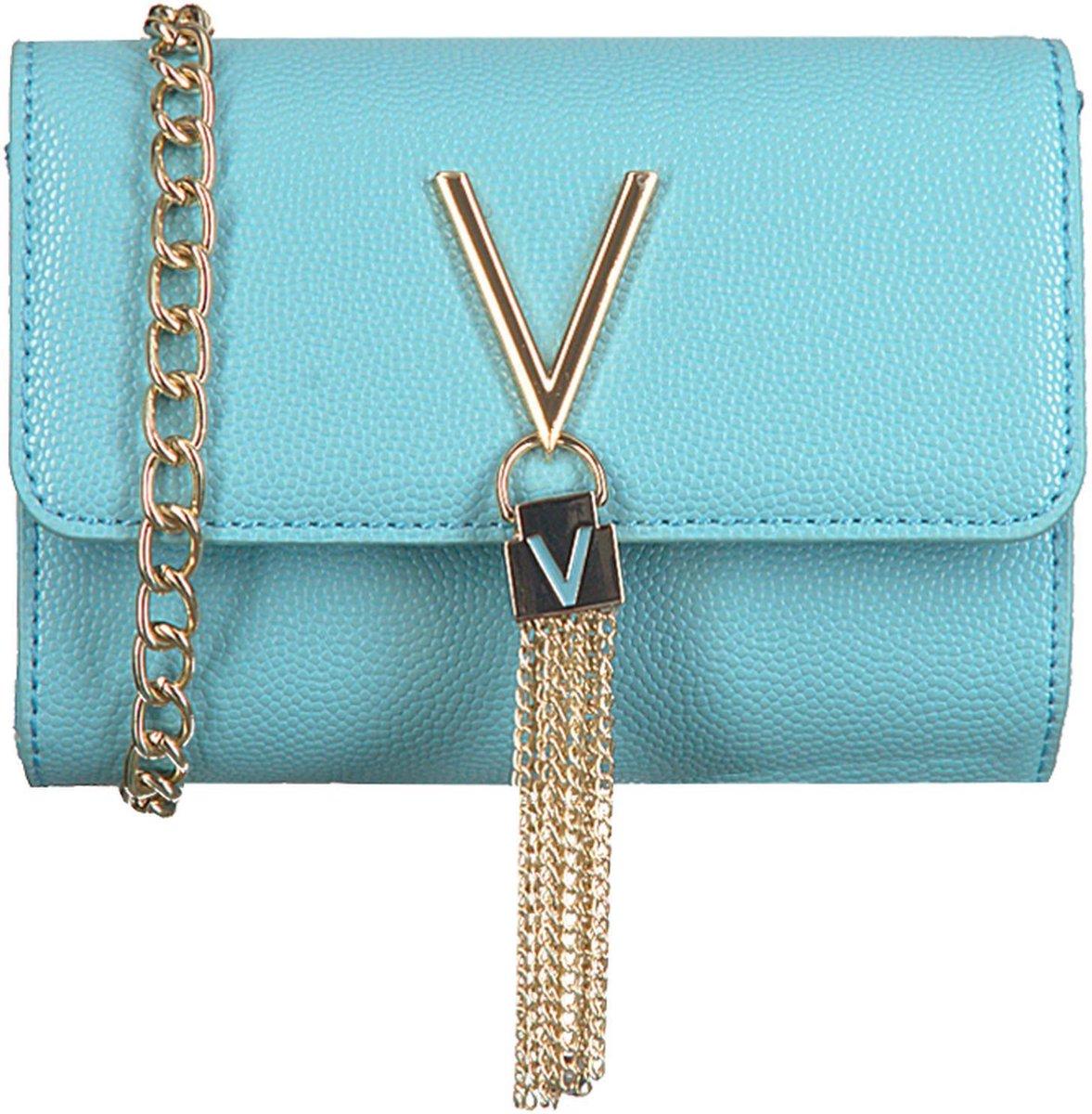Valentino Bags Divina Dames Schoudertas - Blauw