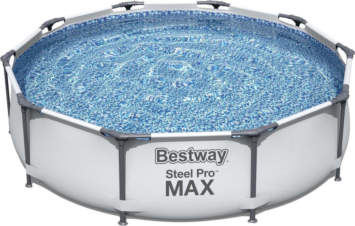 Bestway Steel Pro Zwembad rond 305x76 cm stalen frame 56406