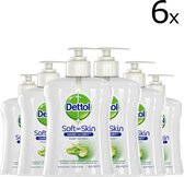 Dettol Handzeep - Antibacterieel - Verzachtend - Aloë Vera - 6 x 250 ml