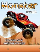 Monster Truck Coloring Book Awesome For Kids