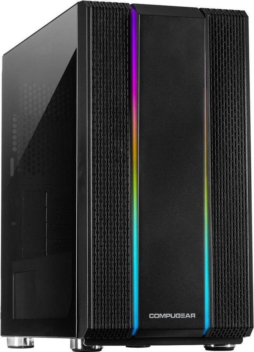 COMPUGEAR AR5X-8R480S-G50 - Ryzen 5 3500X - GTX 1050 Ti - Allround PC