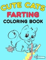Cute Cats Farting Coloring Book