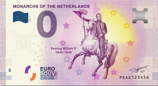 Afbeelding van het spel 0 Euro Biljet 2020 - Vorsten van Nederland - Koning Willem II