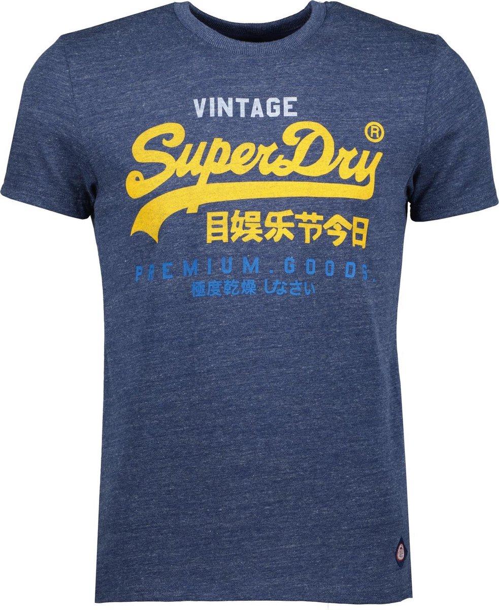Superdry Vintage Logo Tri 220 Tri Heren T-shirt - Maat 3XL