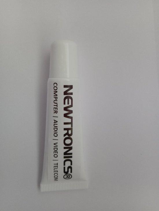 Newtronics Koelpasta 25 gram wit tot 180 graden voor computer cpu/processor en elektronica toepassingen