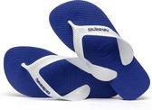 Havaianas Max Unisex Slippers - Blauw/Wit - Maat 33/34