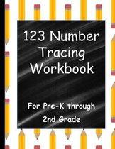 123 Number Tracing Workbook
