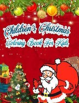 Children's Christmas Coloring Book For kids