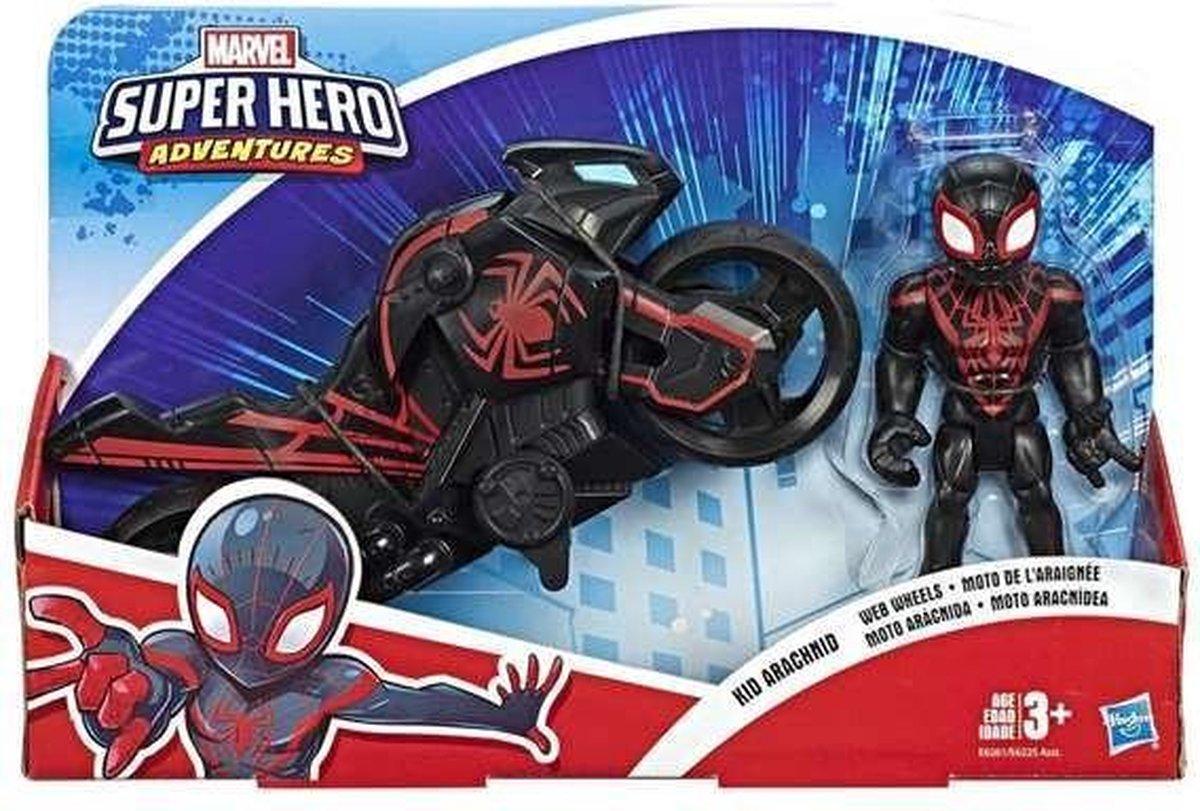 Motorfiets Super Hero Hasbro