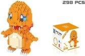 Charmander blocks - Pokemon - 298 Stuks Charmander - Mini Bouwstenen - 3D Puzzel - Nano block
