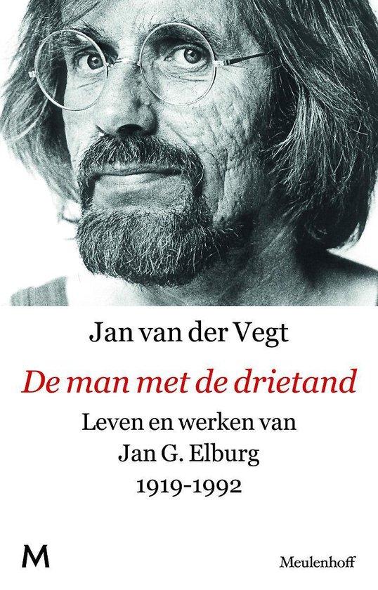 Cover van het boek 'De man met de drietand' van J. van der Vegt
