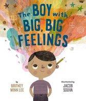 Boek cover The Boy with Big, Big Feelings van Lee, Britney Winn