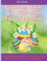 Coloring Book for Kids with Easter Designs