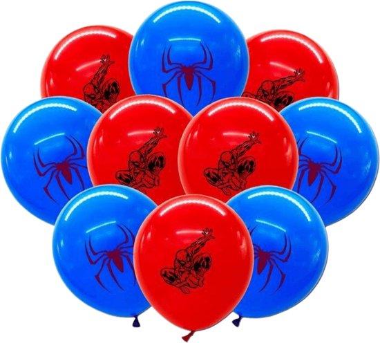 Spiderman Ballonnen - 10 Stuks - Marvel Avengers - Ballonnen Verjaardag - Latex Ballonnen - Helium Ballonnen