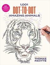 1,001 Dot-to-Dot Amazing Animals