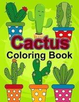 Cactus Coloring Book