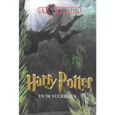 Boek cover Harry Potter 4 -   Harry Potter en de vuurbeker van Rowling, J. K. (Hardcover)