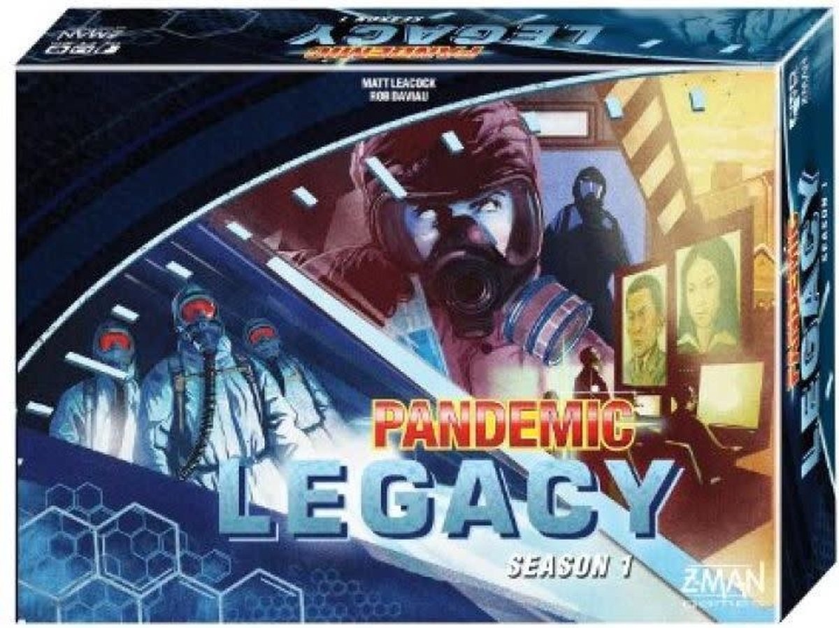 Pandemic Legacy Blue - Bordspel - Engelstalig Bordspel